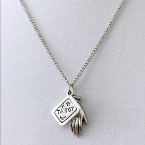 Jewelry - NEW Tarot Card & Palm Reading Necklace
